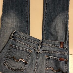 7 For AllManking Jeans Size 26